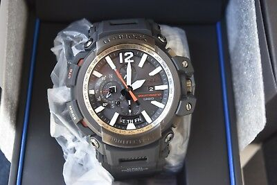 AUTHENTIC CASIO G-Shock GPW2000-1A GRAVITY MASTER Bluetooth Solar Mens Watch