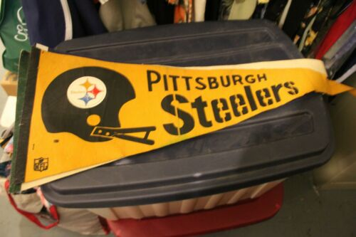 Vintage Pittsburgh Steelers Pennant 80