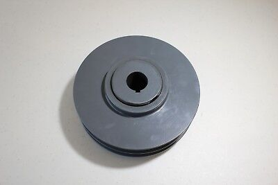 Tb Woods Double Groove Variable Pitch Pulley Sheave 2vp71118 1-18 Bore