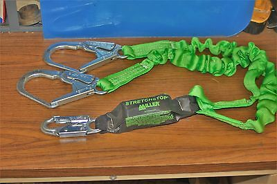 Miller Stretchstop Shock Absorbing Lanyard By Honeywell