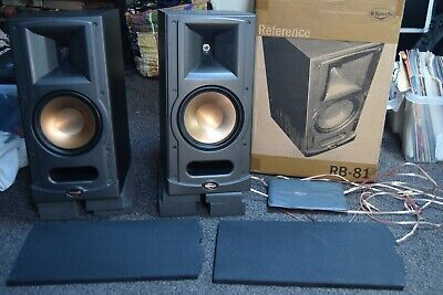 Klipsch RB-81 Speakers - Rarely Used - Perfect Working and Cosmetic Condition