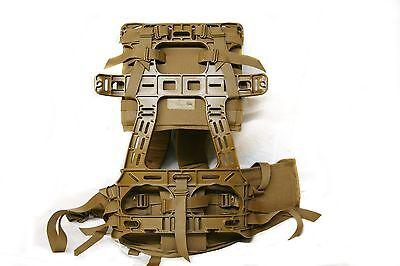 New USMC FILBE Complete Suspension System Coyote Shoulder Strap Waist Belt Frame