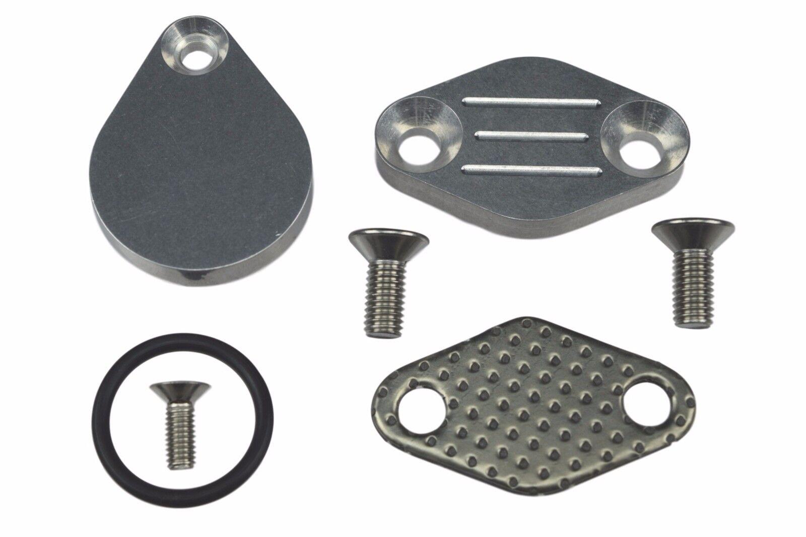 LS EGR Delete Intake//Exhaust Block Off Plate LSX Silverado 4.8L 5.3L 6.0L LQ4