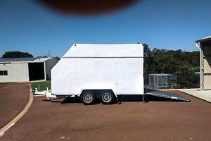 Trailer - fully enclosed tandem