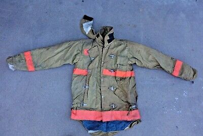 Morning Pride Firefighting Bunker Turnout Gear Jacket Size Large 40cx34s