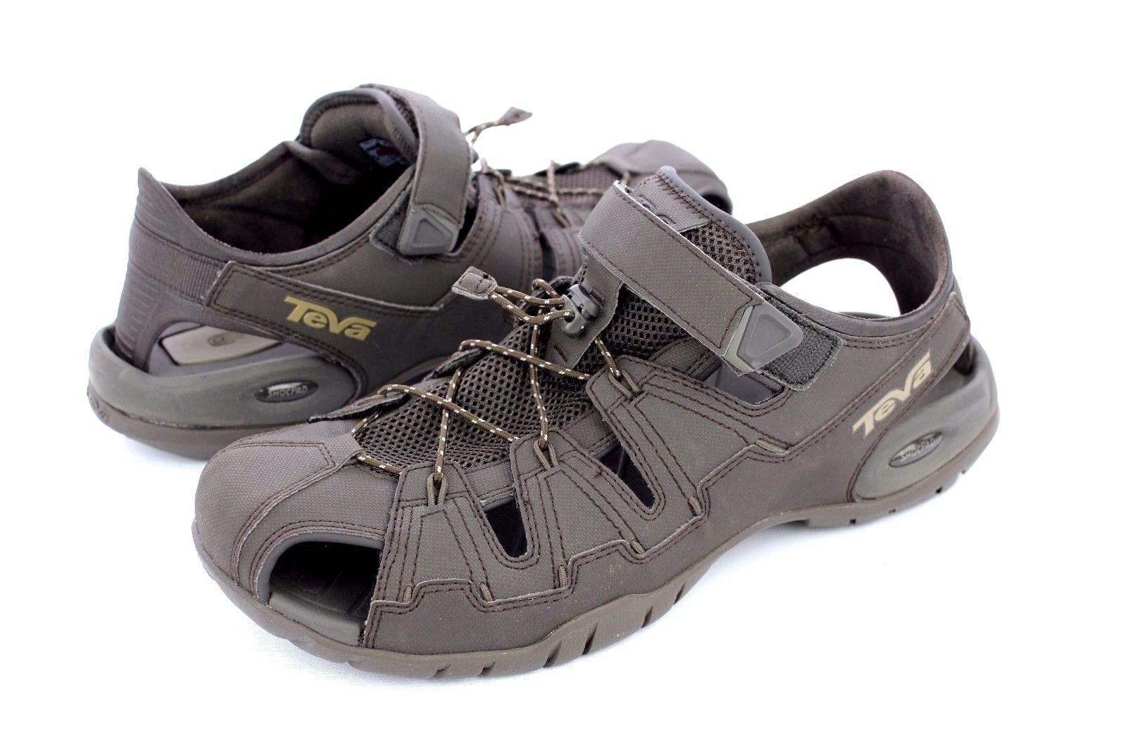 9f8ff4fb6 ... UPC 737045322094 product image for Teva Men s Dozer 4 Sandal 1006248 - Black  Olive - 10 ...