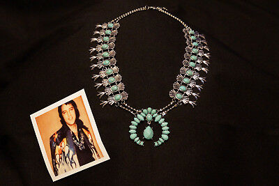 ELVIS 1970s Jumpsuit Era & ETA Style Turquoise Necklace