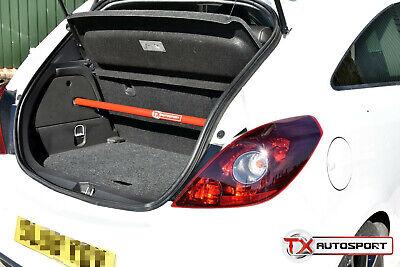 Vauxhall Corsa D VXR SRi 1.6 Turbo Strut Bar Brace For All 3 Door Models - Red