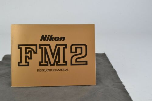 Nikon FM2 Camera Instruction Manual User Guide VGC (002)