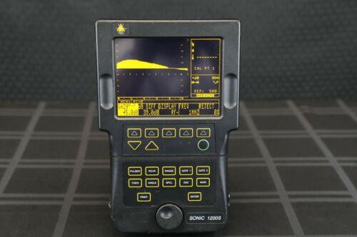 Olympus Sonic 1200S Ultrasonic Flaw Detector -Panametrics Krautkramer GE NDT