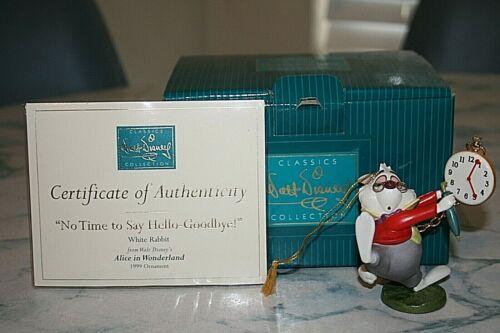 Disney Classics collection White Rabbit 1999 Ornament