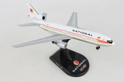 POSTAGE STAMP NATIONAL AIRLINES DC-10 1:400 SCALE DIECAST METAL MODEL