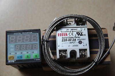Fc Manual Auto-tuning Pid Temperature Controller Td4-ssr K Sensor60a Da Ssr