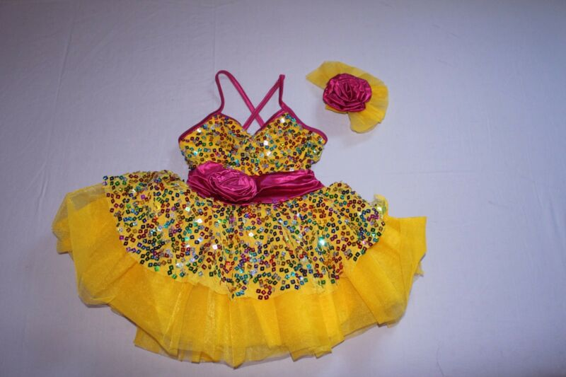 ballet costume sizes small girls 4-5 years