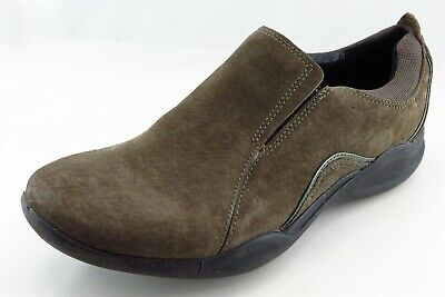 Clarks Loafers & Slip Ons Brown Leather Men Shoes Size 8.5 Medium (D, M)