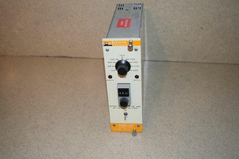 ^^ BERTAN 305 H.V POWER SUPPLY (TP751)