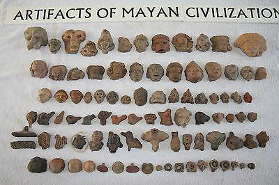 Pre-Columbian Maya / Mayan Artifact Collection (333 pieces)