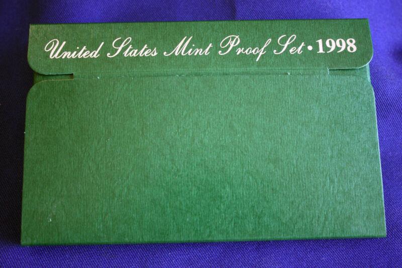 1998-s U.S. Proof Set. Complete and Original