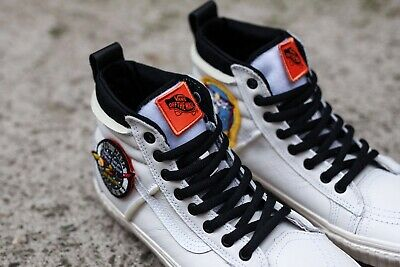 vans x nasa space voyager old skool white shoes Size 9
