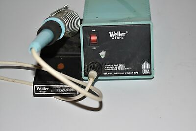 Weller Wtcps Soldering Station With Ec234 Iron And Holder Kb37