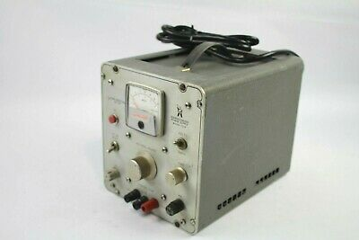 Power Designs Inc. Transistorized Power Supply Model 3240