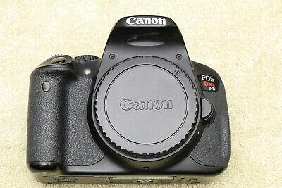 Canon EOS T4i (650D) Digital SLR camera. Excellent condition. EXTRAS!
