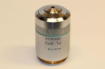 Leica Pl Apo 20x0.60 0.17b Microscope Objective Pn 506035