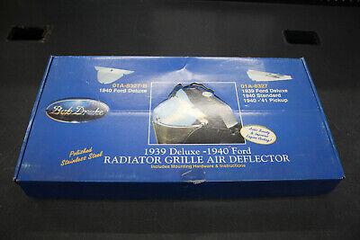 NEW Bob Drake FORD AIR DEFLECTOR 1939 1940 1941 car pickup truck radiator grill