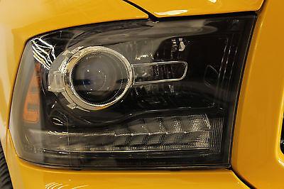 2013-2015 Pair Of Dodge Ram 1500 2500 3500 Black Projector Headlights Mopar OEM | eBay