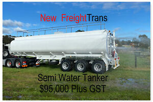 NEW Semi Water Tanker Tri axle In Stock Now $89,000 plus gst. Pickering Brook Kalamunda Area Preview