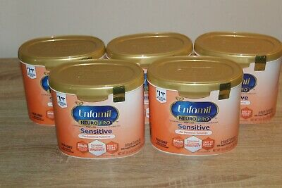 x5 Tubs Enfamil Neuro Pro Sensitive Tummies Non-GMO 19.5 oz Exp 2021