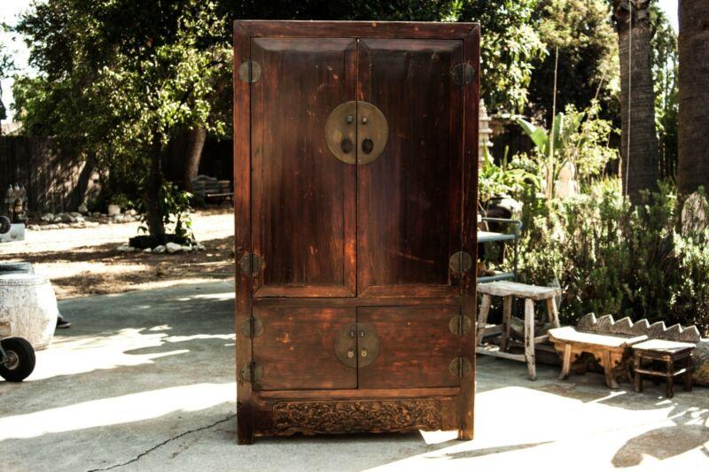 Unique Antique Chinese  Cabinet