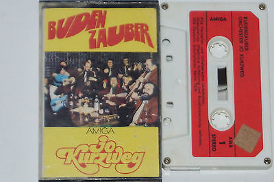 JO KURZWEG - BUDENZAUBER - MC Kassette auf Amiga (0 55 593)