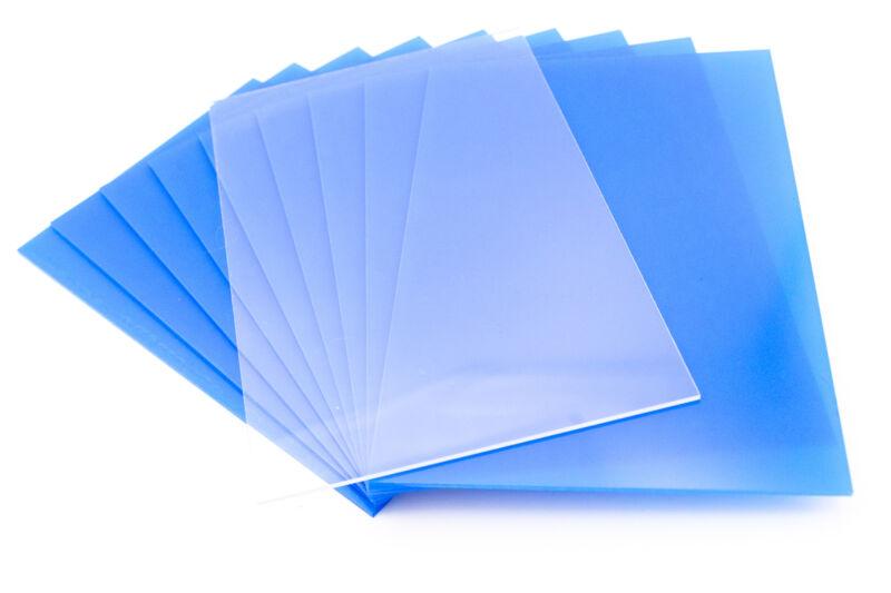 10 Sheets 8x10 .040 PETG, Clear Styrene/Plexiglass