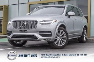 2016 Volvo XC90 CERTIFIEE 6ANS/160 000KM T6 AWD INSCRIPTION