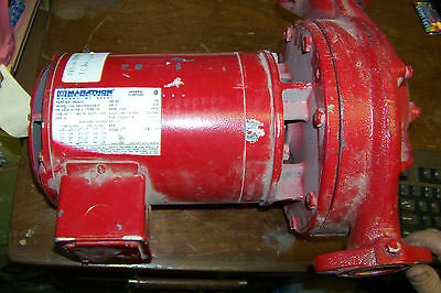 New Bell Gossett Series 90 1hp Motor Water Pump Inoutlet 1 12