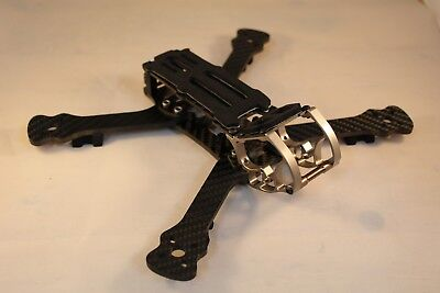 "Rooster Style 230mm Freestyle fpv 5"" quad drone racing frame carbon US Seller"