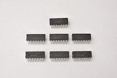 Texas Instrument Ua741mj Op-amp 6000uv Offset-max 1mhz Bandwidth Cdip14 Lot Of 6