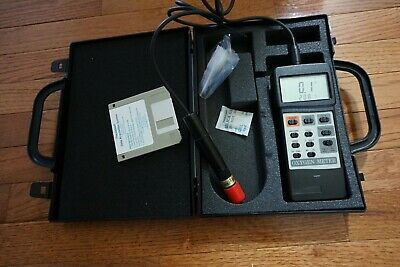 Control Company Dissolved Oxygentemp. Meter Probe Traceable To Nist Calibrat