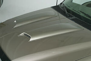 PAINTED-2006-2007-Chevrolet-Suburban-2500-LTZ-Smooth-Hood-Scoops-2pc-Hoodscoop