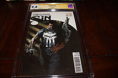 ORIGINAL SIN 4✳1:50 DELL OTTO VARIANT✳CGC SS 9.8✳SIGNED STAN LEE✳✳