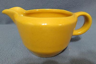 Vintage Frankoma Pottery Yellow Pitcher 6A