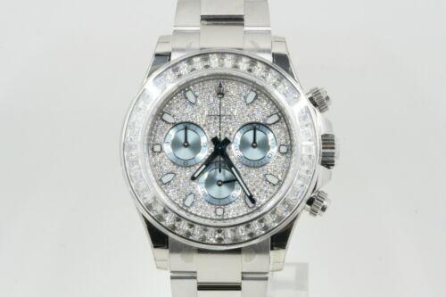 Rolex Daytona Model 116576 Pave Diamond Dial & Diamond Bezel