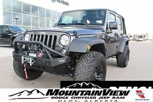 2017 Jeep Wrangler Unlimited Sport FULLY LOADED! TIRE/RIM PACKAG