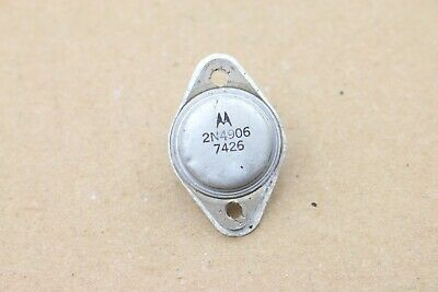 Vintage Motorola 2n4906 Power Transistor To-3