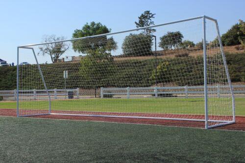 G3Elite Pro 24x8 Soccer Goal, Galvanized Steel With 3.5mm Net, 8