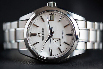 Grand Seiko Snowflake Spring Drive Titanium Men's Watch SBGA211