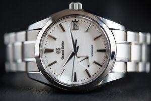 Grand Seiko Snowflake Spring Drive Titanium Men's Watch SBGA211
