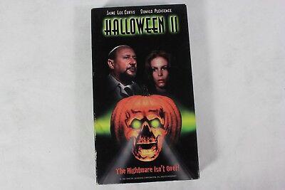 Halloween 2 1981 Michael Myers (HALLOWEEN II 2 Michael Myers Slasher Horror Movie 1981 on GOODTIMES Video)