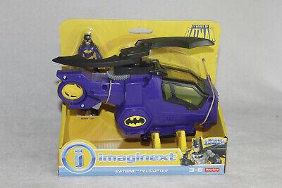 IMAGINEXT DC SUPER FRIENDS BATGIRL HELICOPTER BATMAN FISHER PRICE